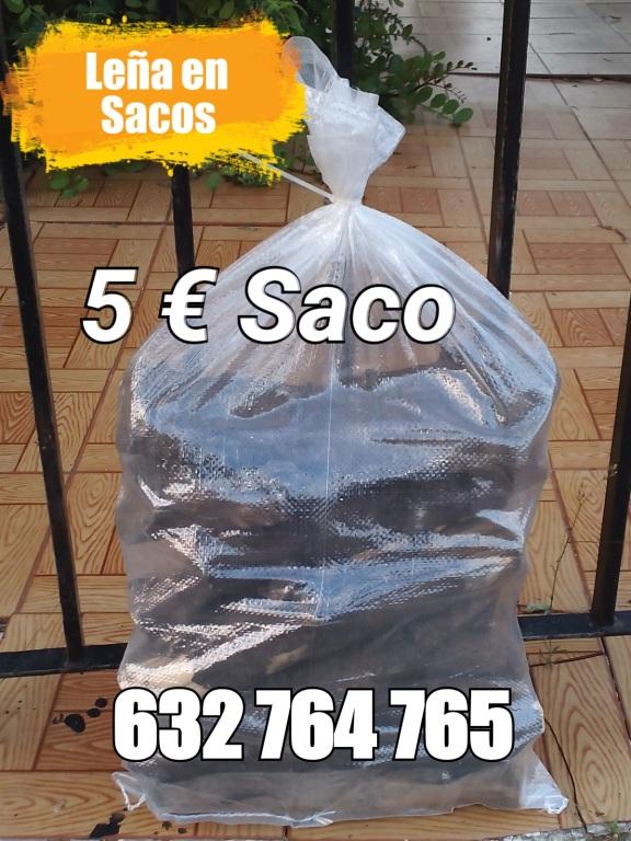 Sacos de leña a 5 Euros
